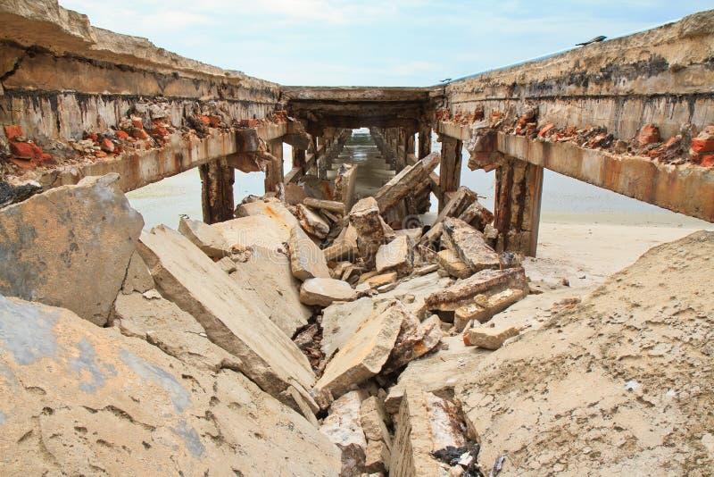 Κατάρρευση γεφυρών στοκ φωτογραφία με δικαίωμα ελεύθερης χρήσης