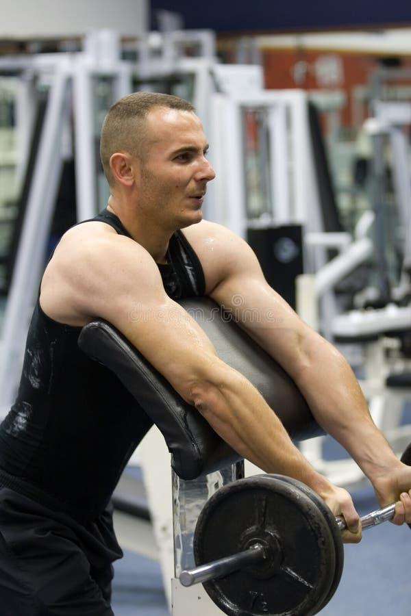 κατάρτιση γυμναστικής ικανότητας στοκ εικόνα