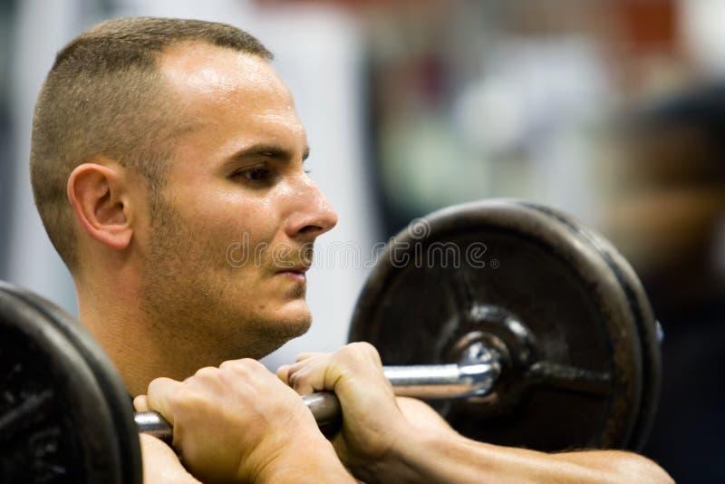 κατάρτιση γυμναστικής ικανότητας στοκ εικόνες