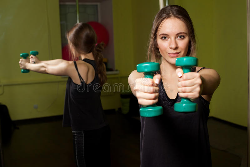 Κατάρτιση ικανότητας στη γυμναστική στοκ εικόνες