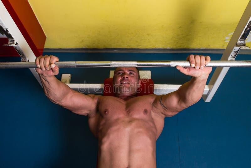 Κατάρτιση Bodybuilder στοκ φωτογραφία με δικαίωμα ελεύθερης χρήσης