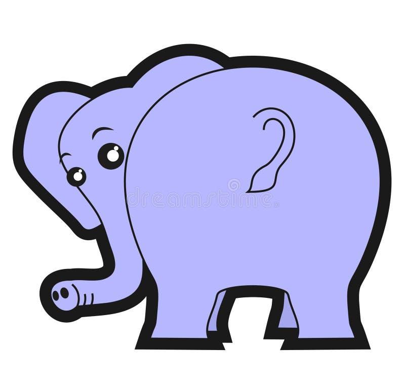 κατάσκοπος ελεφάντων απεικόνιση αποθεμάτων