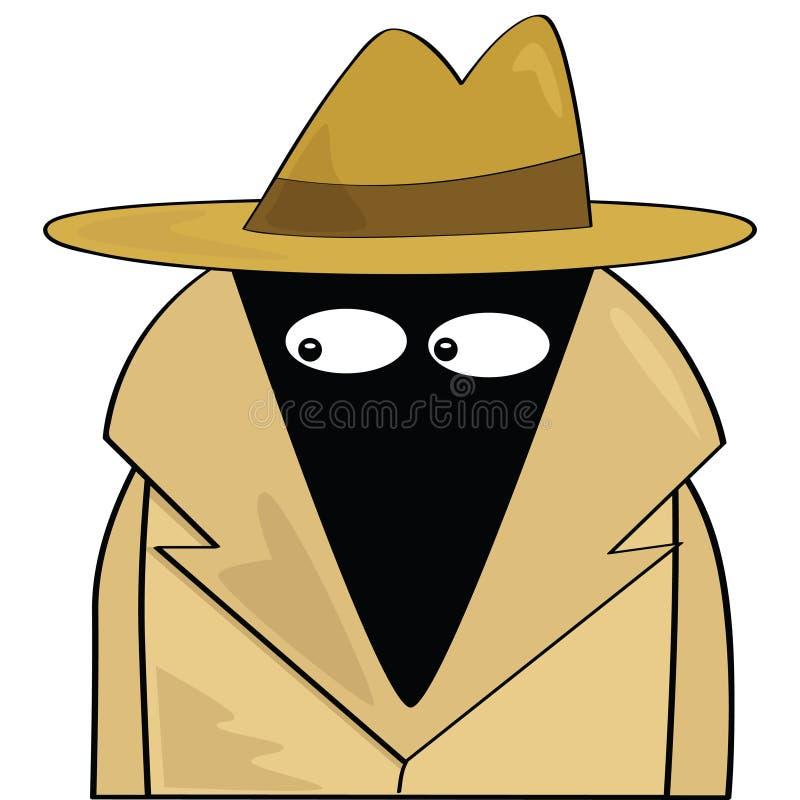 κατάσκοπος διανυσματική απεικόνιση