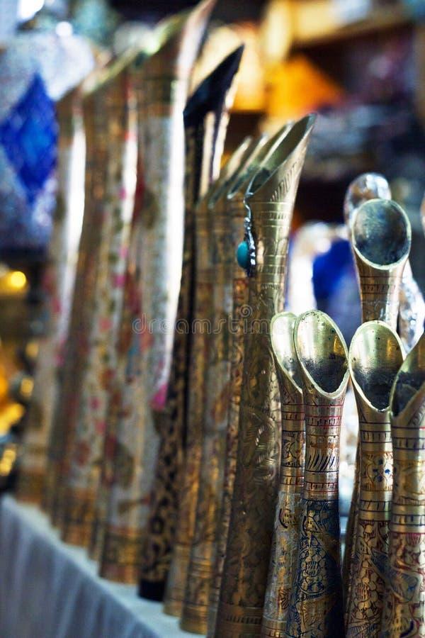 Κατάστημα αναμνηστικών σε Άραβα στοκ φωτογραφία