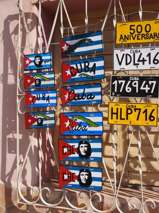 Κατάστημα αναμνηστικών στο Τρινιδάδ Κούβα στοκ φωτογραφίες με δικαίωμα ελεύθερης χρήσης