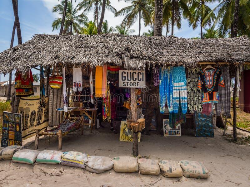 Κατάστημα αναμνηστικών, Zanzibar στοκ φωτογραφία με δικαίωμα ελεύθερης χρήσης