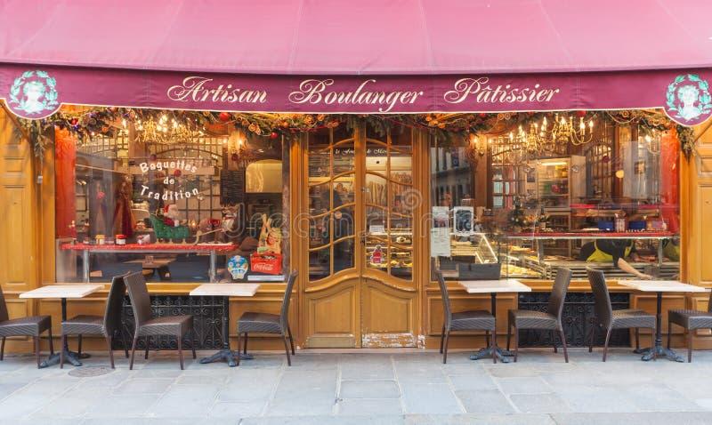 Κατάστημα αρτοποιείων στοκ εικόνα