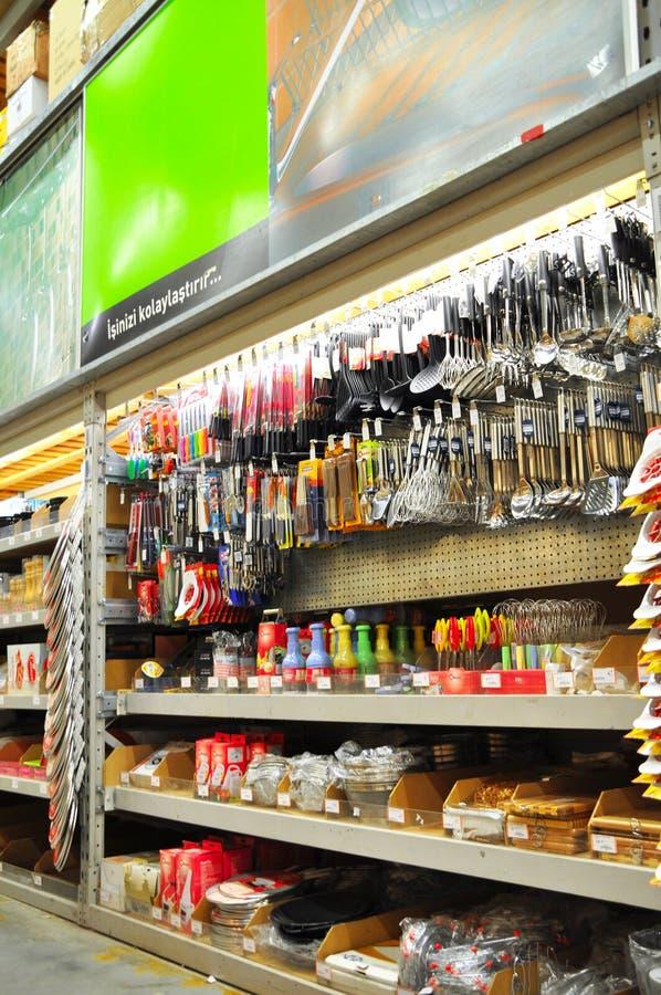 κατάστημα βασικής βελτίω&s στοκ φωτογραφία