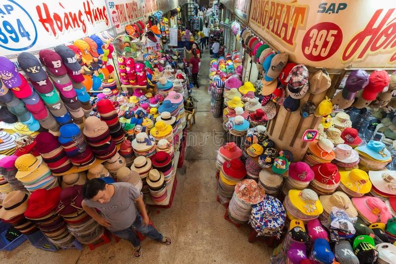 Κατάστημα καπέλων στο Βιετνάμ στοκ φωτογραφία με δικαίωμα ελεύθερης χρήσης