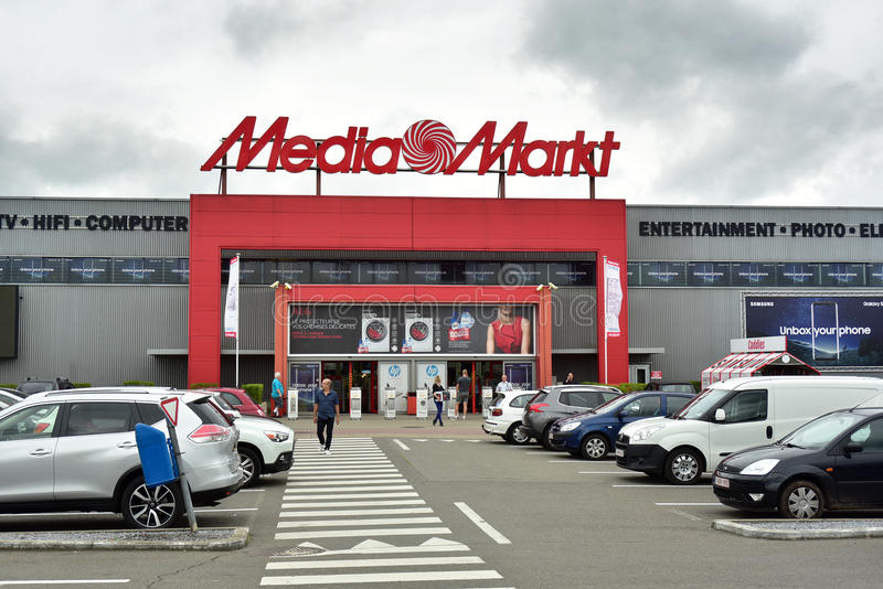 Κατάστημα μέσο-Markt στοκ φωτογραφία