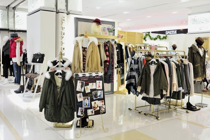 κατάστημα μόδας ενδυμάτων στοκ φωτογραφίες με δικαίωμα ελεύθερης χρήσης
