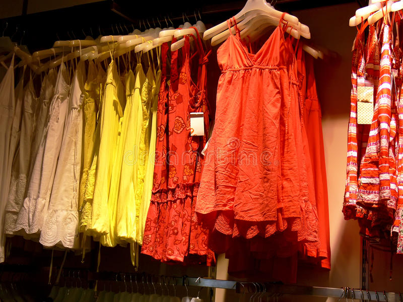 κατάστημα μόδας στοκ φωτογραφία με δικαίωμα ελεύθερης χρήσης