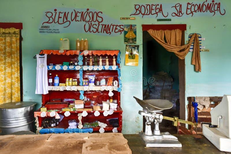 Κατάστημα σε Casilda, Κούβα στοκ εικόνες με δικαίωμα ελεύθερης χρήσης
