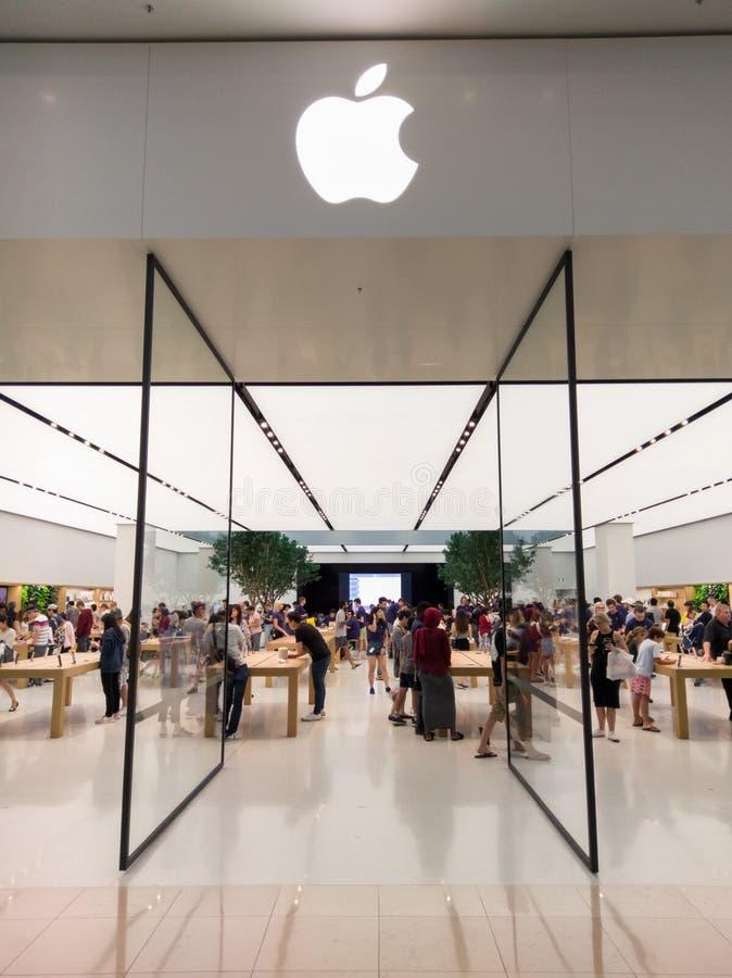 Κατάστημα της Apple μέσα στο εμπορικό κέντρο Chadstone στη Μελβούρνη στοκ εικόνες