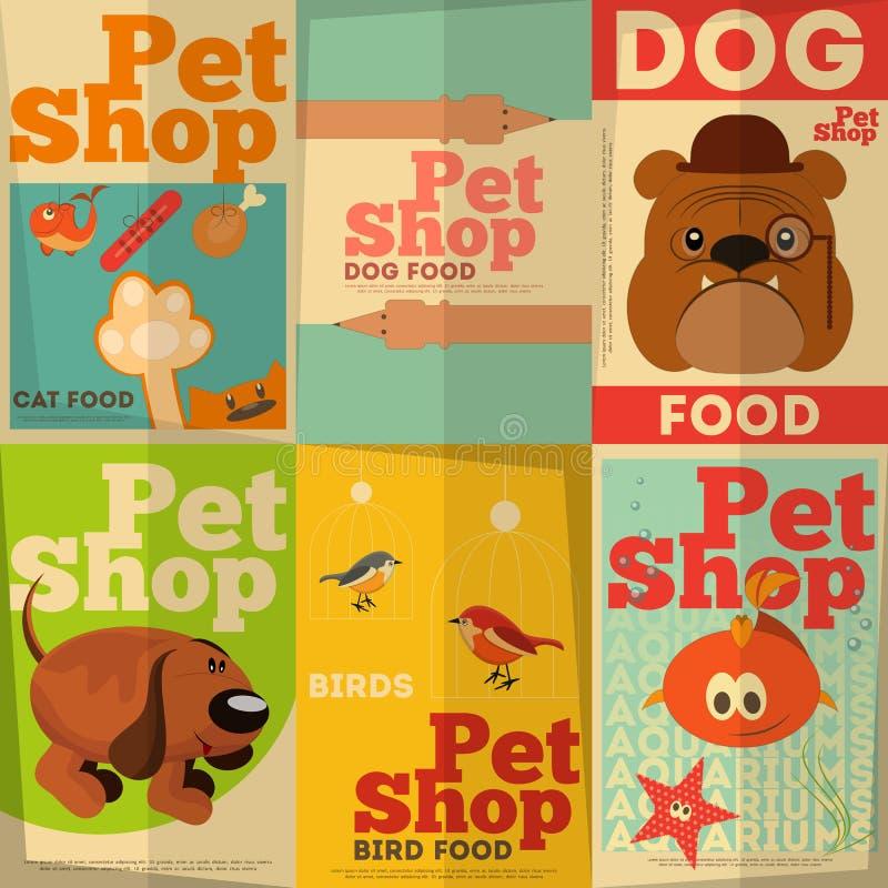 Κατάστημα της Pet διανυσματική απεικόνιση