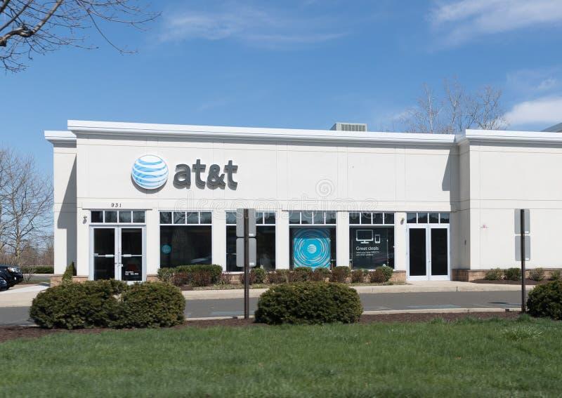 Κατάστημα της AT&T στη Φιλαδέλφεια στοκ φωτογραφίες με δικαίωμα ελεύθερης χρήσης