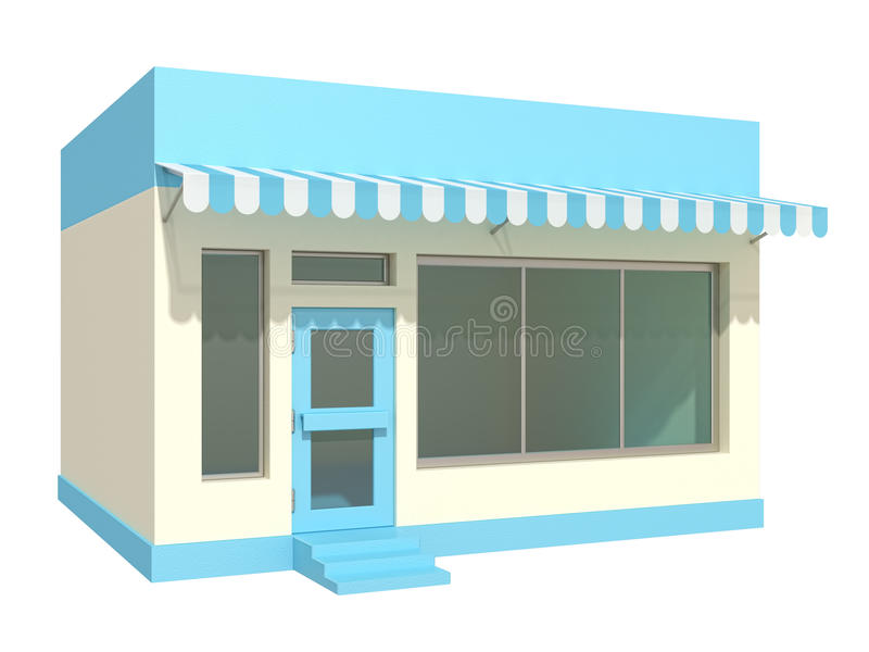 κατάστημα ελεύθερη απεικόνιση δικαιώματος