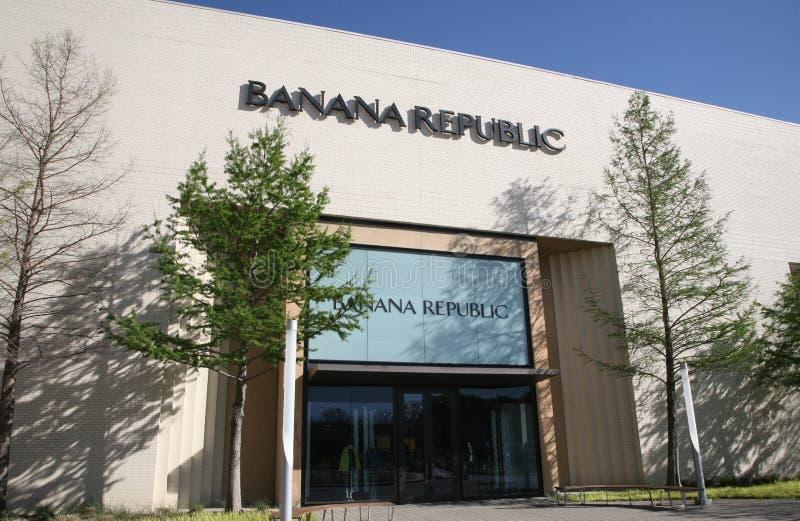 Κατάστημα Banana Republic στοκ φωτογραφίες