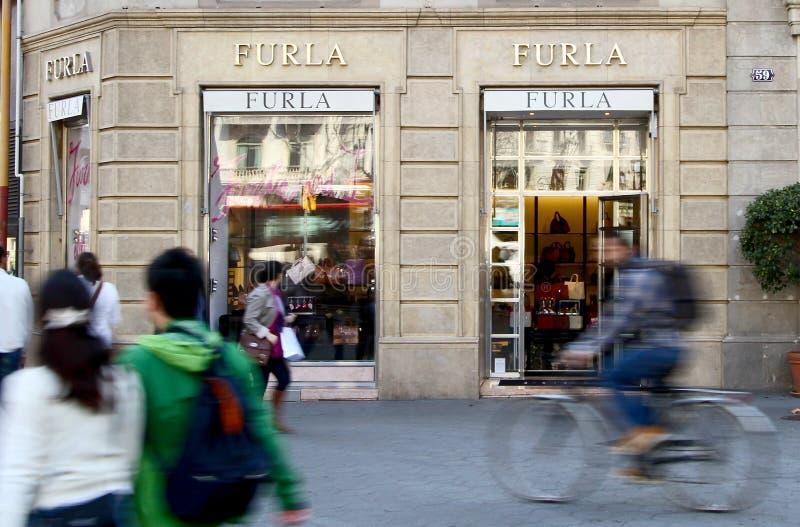 Κατάστημα Furla στοκ εικόνες με δικαίωμα ελεύθερης χρήσης