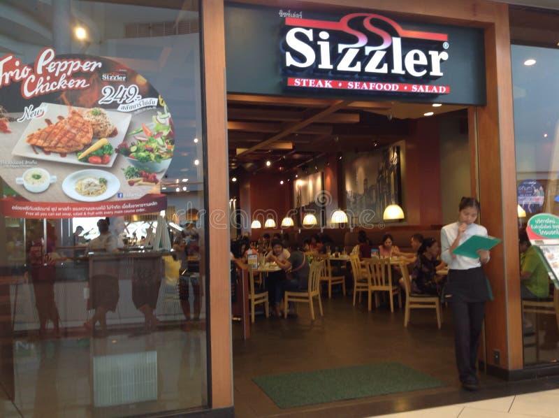 Κατάστημα Sizzler στοκ εικόνες
