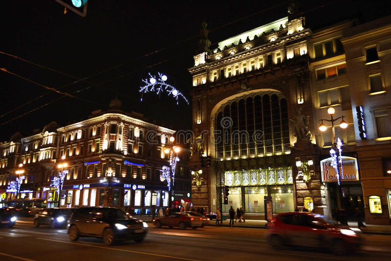 κατάστημα ST της Πετρούπολη στοκ φωτογραφία