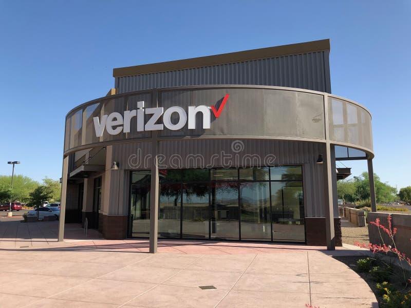 Κατάστημα Verizon στοκ εικόνες