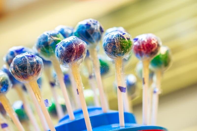 Κατάταξη ζωηρόχρωμου Lollipops στοκ εικόνα με δικαίωμα ελεύθερης χρήσης