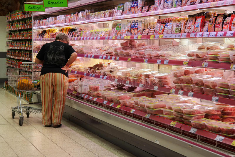 Κατάταξη κρέατος στοκ φωτογραφία με δικαίωμα ελεύθερης χρήσης