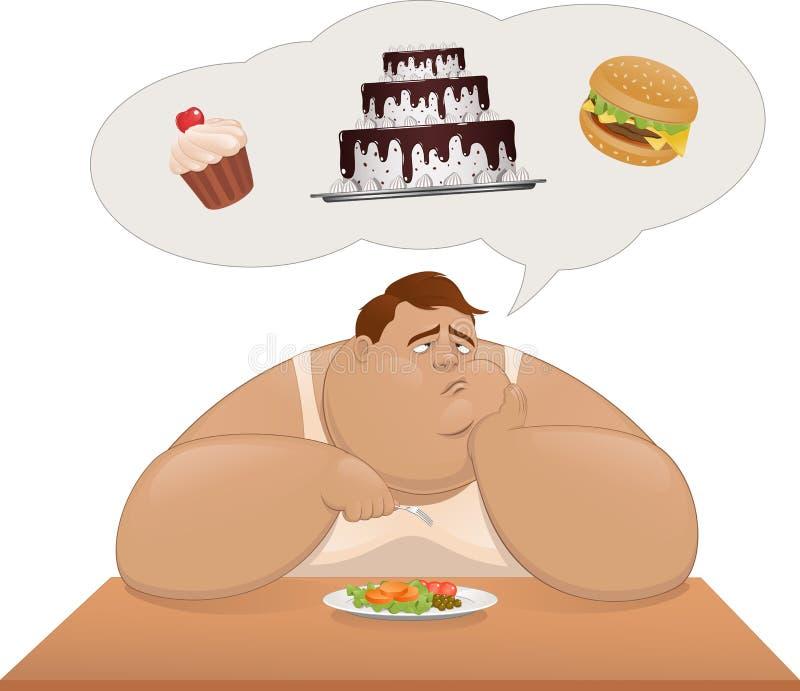 Κατάλληλη διατροφή ελεύθερη απεικόνιση δικαιώματος