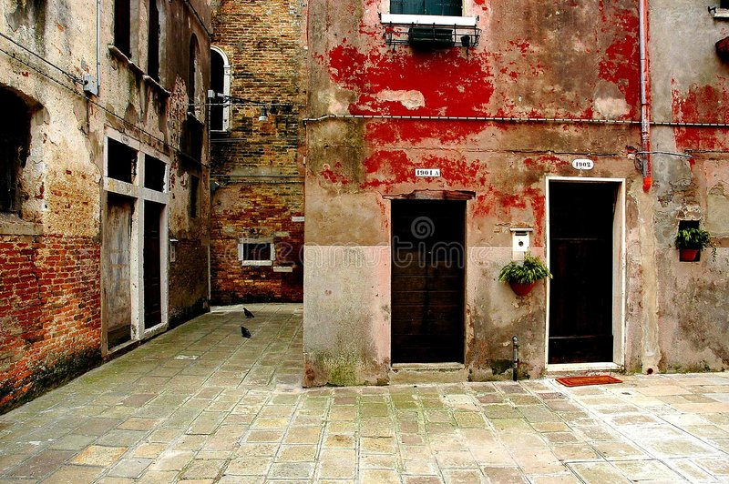 Download κατά μήκος των οδών Βενετία Στοκ Εικόνες - εικόνα: 117720