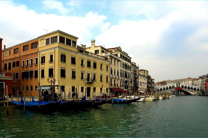 κατά μήκος των οδών Βενετία στοκ φωτογραφία