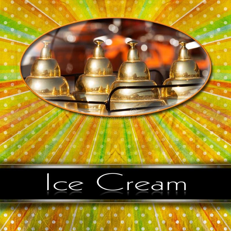 Κατάλογος επιλογής παγωτού διανυσματική απεικόνιση