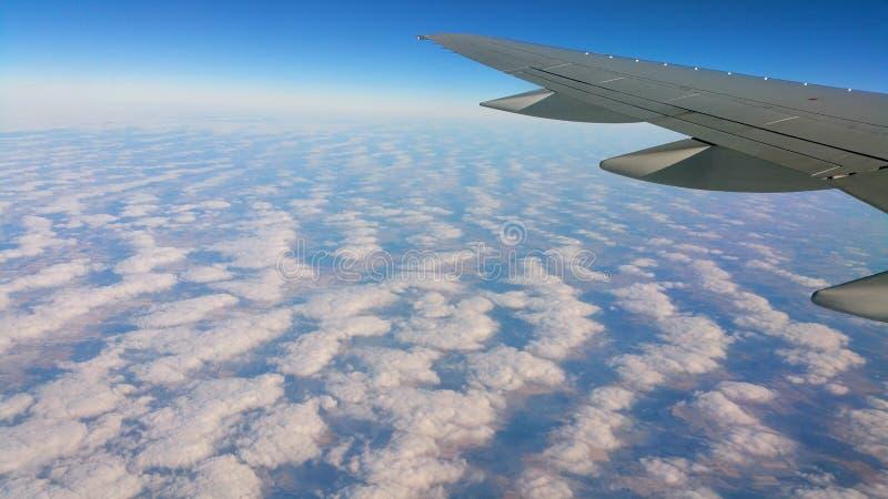 Κατά την πτήση στοκ εικόνα με δικαίωμα ελεύθερης χρήσης