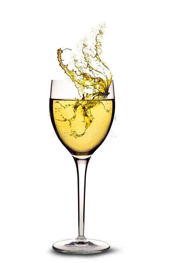 καταβρέχοντας κρασί στοκ εικόνες