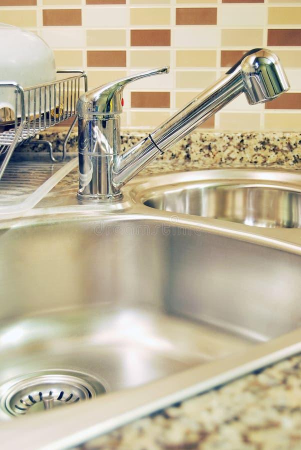 καταβόθρα κουζινών στοκ φωτογραφίες