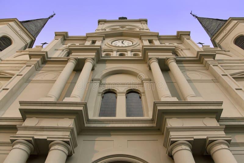κατακόρυφος του Louis Άγιος καθεδρικών ναών στοκ φωτογραφίες