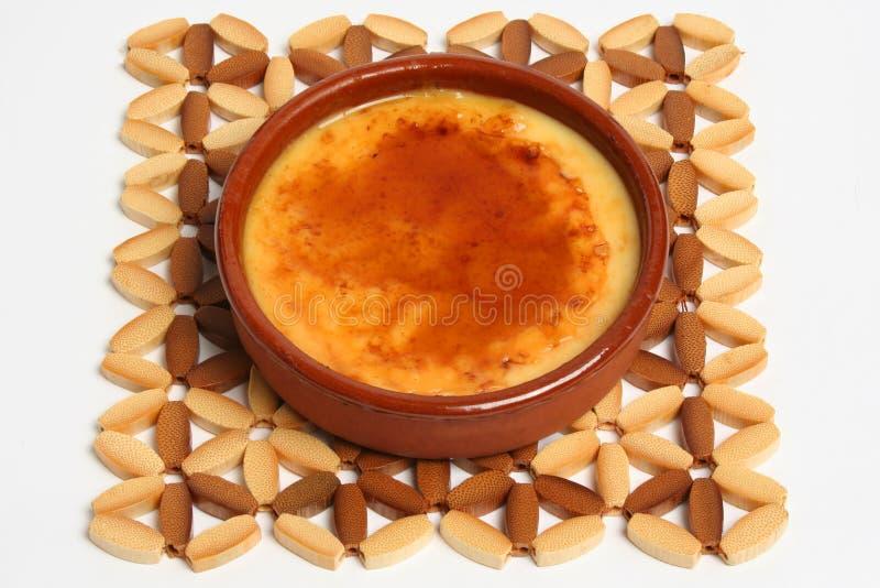 καταλανικό creme στοκ εικόνα