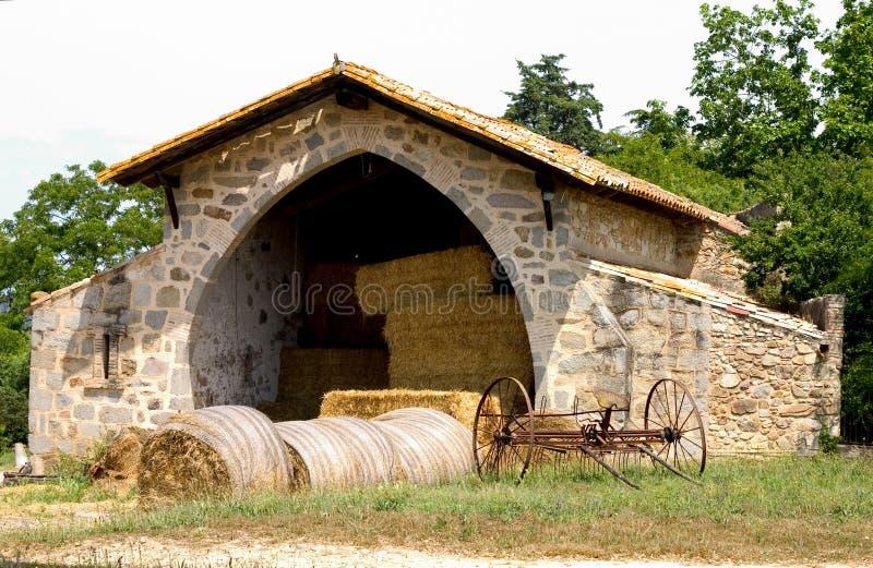 Καταλωνία hayloft Ισπανία στοκ φωτογραφία με δικαίωμα ελεύθερης χρήσης