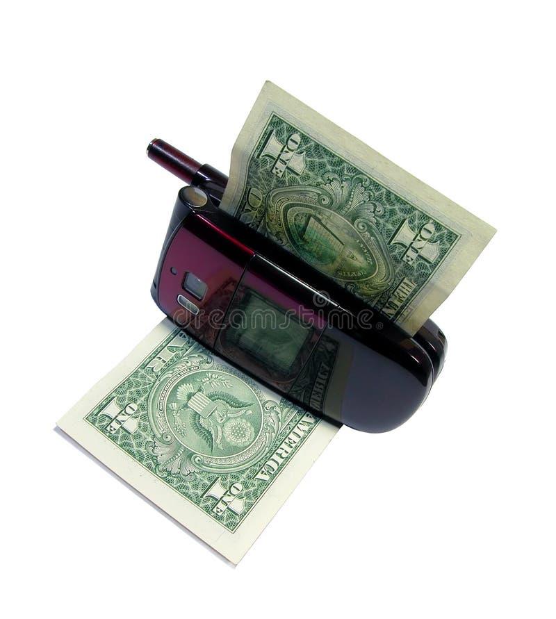 κατανάλωση των χρημάτων στοκ εικόνα