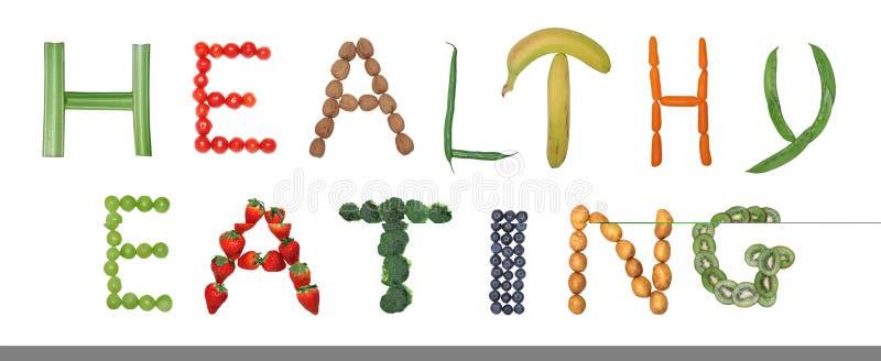 κατανάλωση υγιής διανυσματική απεικόνιση