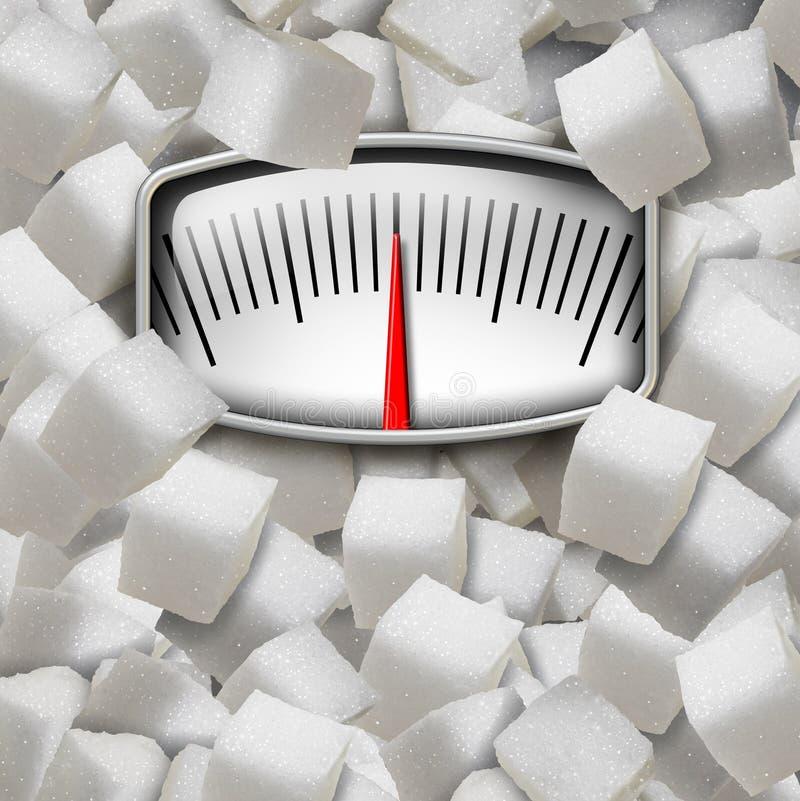 κατανάλωση της ζάχαρης απεικόνιση αποθεμάτων