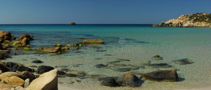 καταπληκτική όψη chia παραλιών στοκ φωτογραφία με δικαίωμα ελεύθερης χρήσης