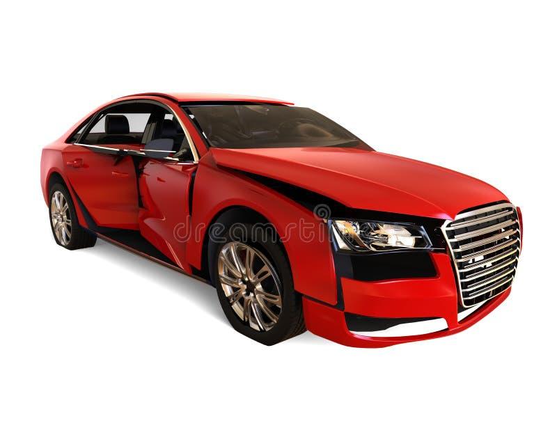 Καταπληκτική έννοια αυτοκινήτων απεικόνιση αποθεμάτων