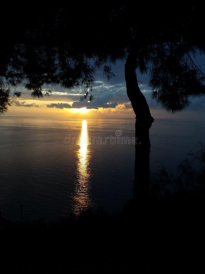 Καταπληκτικός ήλιος rize στοκ εικόνα με δικαίωμα ελεύθερης χρήσης