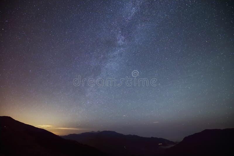 καταπληκτικό αστέρι νύχτα&sigma στοκ εικόνες