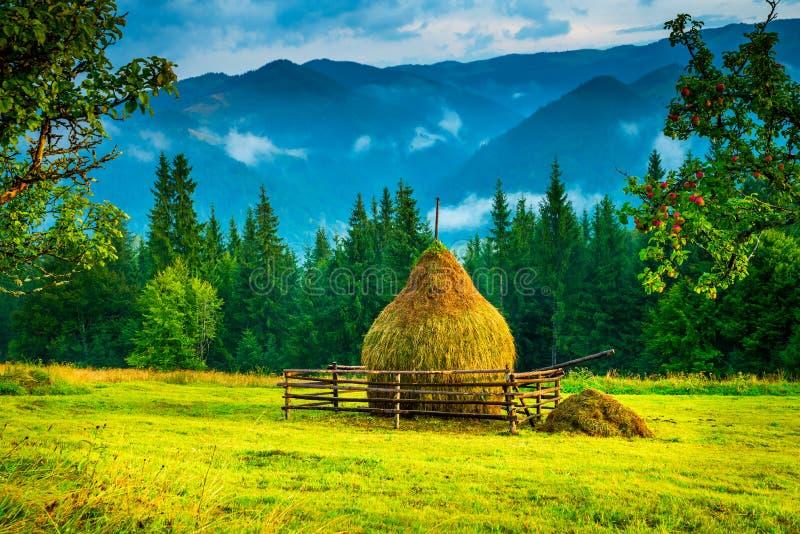 καταπληκτικό βουνό τοπίων στοκ φωτογραφίες