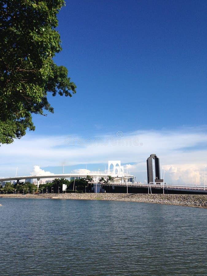 Καταπληκτικό ουρανός-Μακάο στοκ εικόνα με δικαίωμα ελεύθερης χρήσης