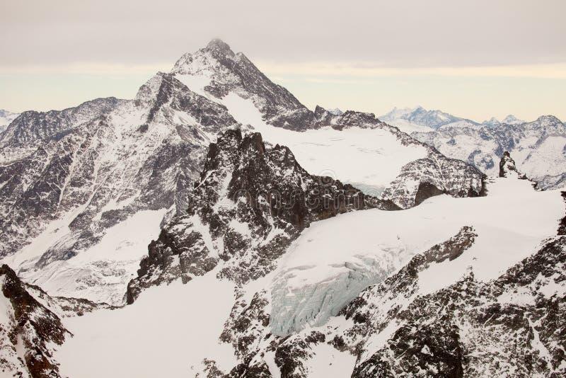 Καταπληκτικό τοπίο βουνών από Engelberg, Ελβετία στοκ εικόνες