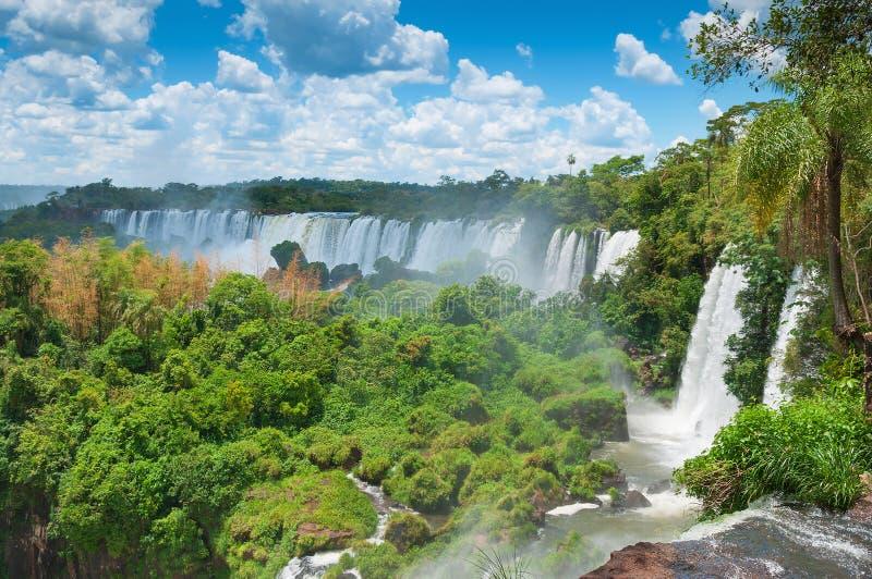 Καταρράκτες Αργεντινή Βραζιλία Iguassu στοκ φωτογραφία