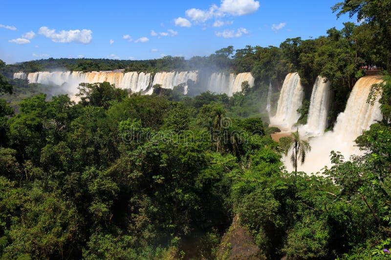 Καταρράκτες Iguasu Αργεντινοί στοκ φωτογραφία με δικαίωμα ελεύθερης χρήσης